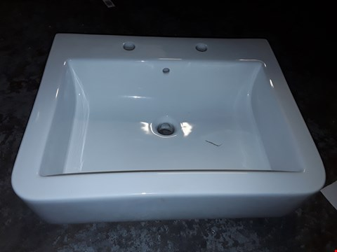 Lot 350 BOXED WATERMARK 600 2-TAP BASIN