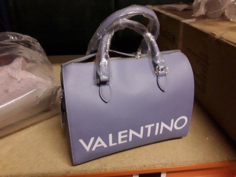 Lot 13 DESIGNER VALENTINO BY MARIO VALENTINO LILAC HANDBAG WITH TAG