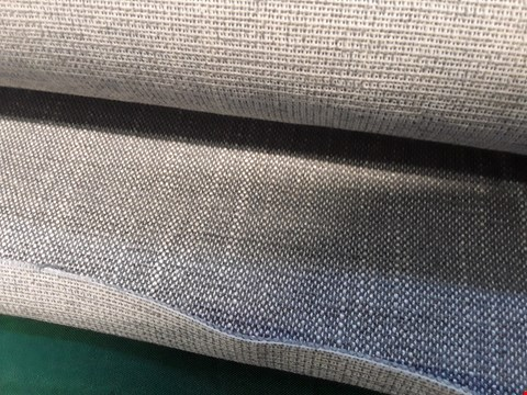 Lot 2029 ROLL OF BLAKE FRENCH GREY FIRE RETARDANT FABRIC APPROXIMATELY 140cm × 3M