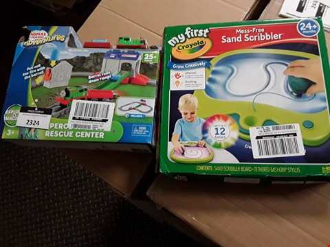 Lot 2324 TWO GRADE 1 GAMES, MY FIRST CRAYOLA & THOMAD & FRIENDS RESCUE CENTRE