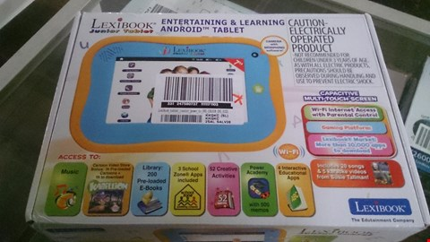 Lot 1536 LEXIBOOK JUNIOR TABLET RRP £149.00