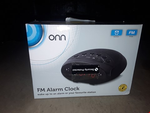 Lot 2136 ONN FM ALARM CLOCK