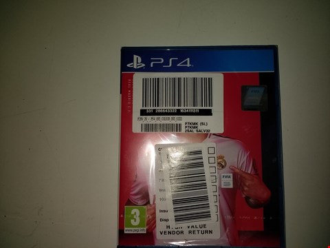 Lot 15075 FIFA 20 FOR PS4 RRP £64.99