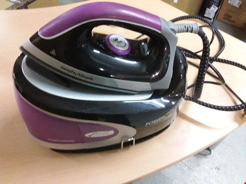 Lot 9557 MORPHY RICHARDS POWER STEAM ELITE STEAM GENERATING IRON