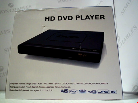 Lot 5524 BOXED HD DVD PLAYER
