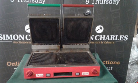 Lot 134 SIRMAN PANINI GRILL COMMERCIAL