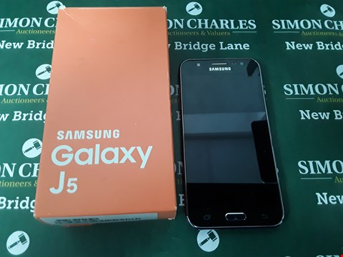 Lot 102 BOXED SAMSUNG GALAXY J5 MOBILE PHONE