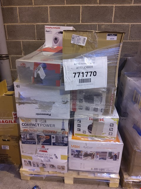 Lot 1019 PALLET OF APPROXIMATELY 21 ASSORTED ITEMS TO INCLUDE: