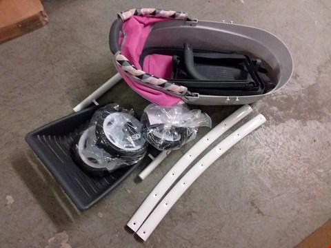 Lot 2076 QUINNEY PUSHCHAIR PRAM RRP £89.99