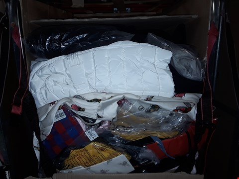 Lot 1347 CAGE OF ASSORTED UNPROCESSED ADULT CLOTHING (CAGE NOT INCLUDED)