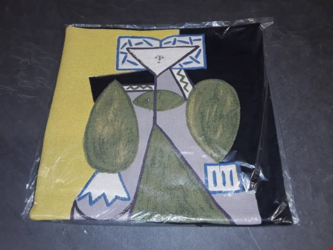 Lot 8162 BRAND NEW 45X45CM  SUCCESSIO JOANMIRO ABSTRACT CUSHION COVER