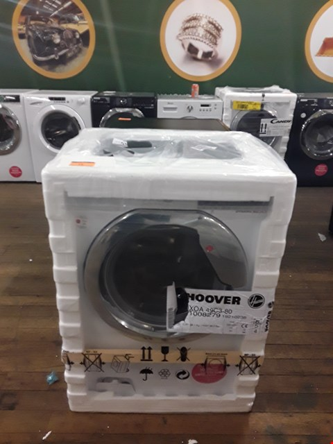 Lot 12 HOOVER DXOA49C3 DYNAMIC NEXT 9KG 1400 RPM WASHING MACHINE  RRP £319.99