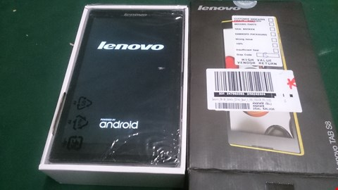 Lot 1456 LENOVO TAB S8-50 QUAD CORE TABLET RRP £239.00