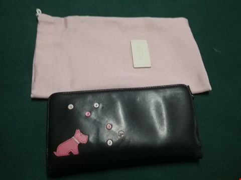 Lot 49 RADLEY LONDON BLACK/PINK PURSE