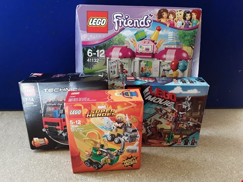Lot 5059 FOUR BOXED LEGO SETS, INCLUDING THE LEGO MOVIE GETAWAY GLIDER