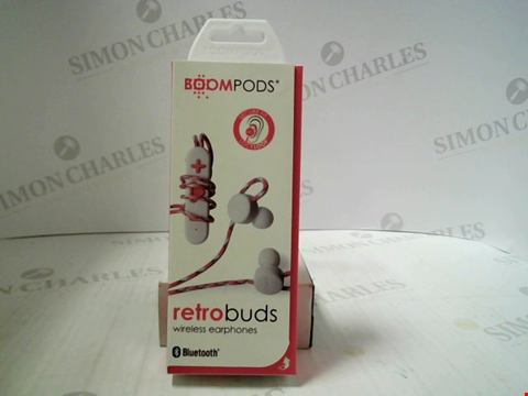 Lot 391 BRAND NEW BOOMPODS RETROBUDS WIRELESS EARPHONES