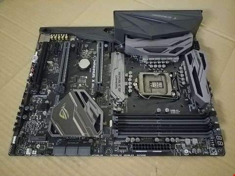 Lot 8030 ASUS ROG MAXIMUS X HERO MOTHERBOARD