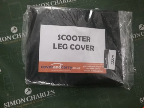 Lot 12278 A SCOOTER LEG COVER
