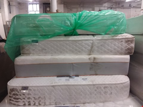 Lot 603 4 ASSORTED UNBAGGED MATTRESSES