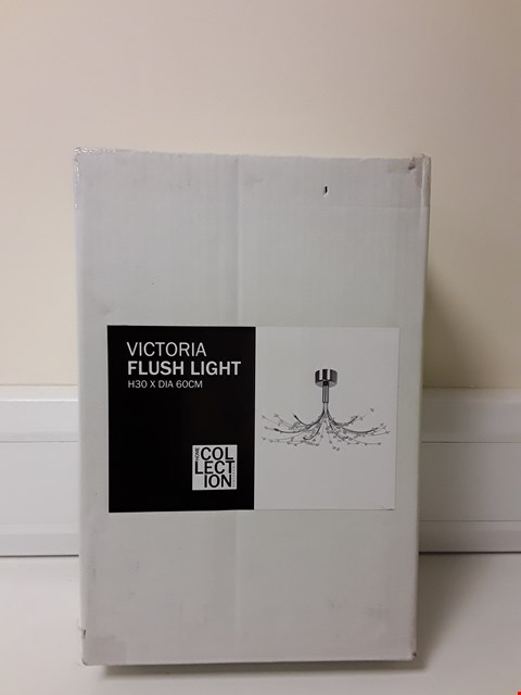 Lot 6033 BOXED VICTORIA FLUSH CEILING LIGHT