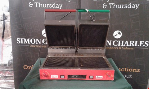 Lot 142 SIRMAN PANINI GRILL COMMERCIAL