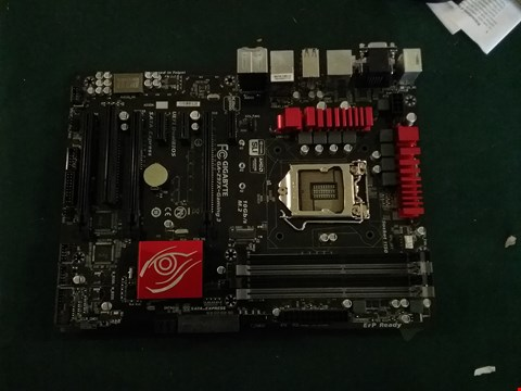 Lot 93 BOXED GIGABYTE Z97X-GAMING 3 MOTHERBOARD