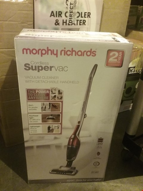 Lot 4029 MORPHY RICHARDS CORDLESS SUPER VAC