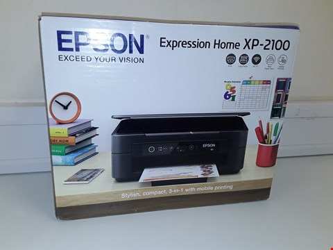 Lot 107 EPSON EXPRESSION HOME XP-2100 PRINTER