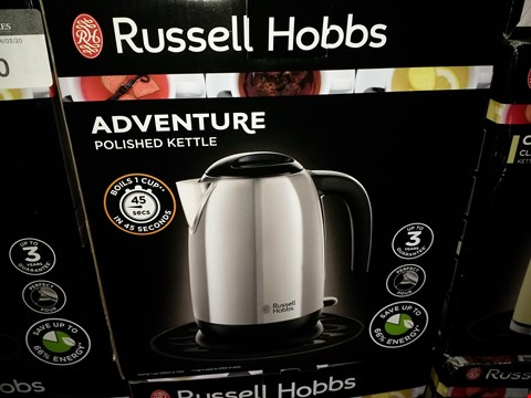 Lot 459 RUSSELL HOBBS ADVENTURE POLISHED KETTLE
