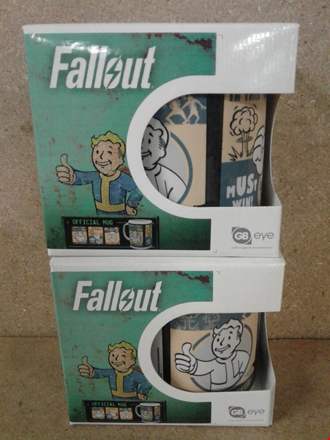 Lot 496 2 BRAND NEW MUGS TO INCLUDE FALL OUT OFFICIAL MUGS