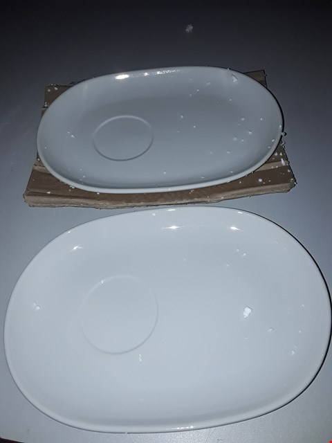 Lot 37 BOXED SOUP AND SNACK TRAY SET OF 2  RRP £24.99