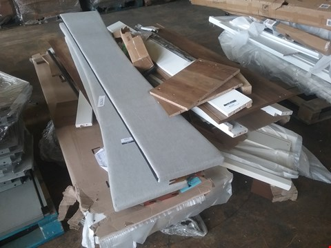 Lot 4137 PALLET OF ASSORTED BED PARTS