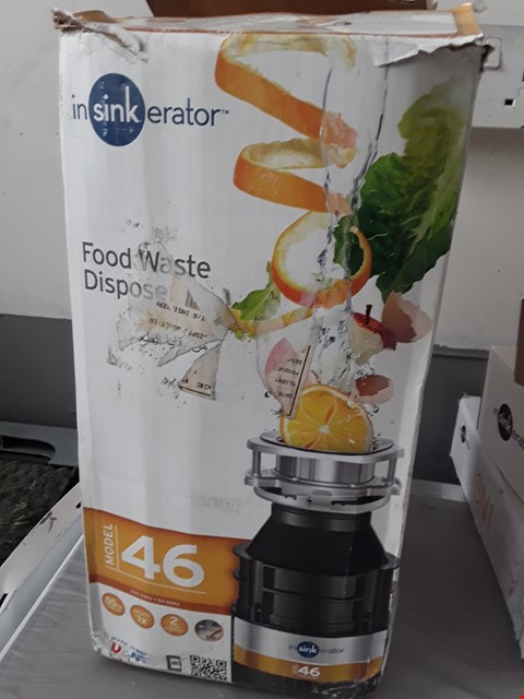 Lot 93 INSI KERATOR FOOD WASTE DISPOSER Model 46 RRP £97