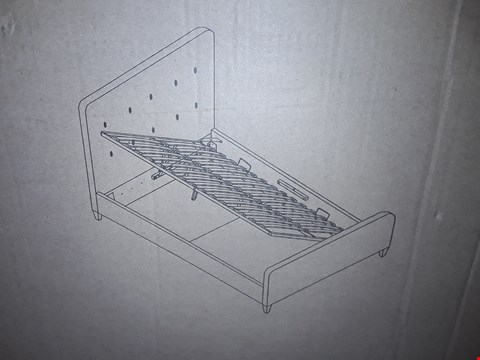 Lot 507 BOXED ASHBOURNE 5FT DARK GREY OTTOMAN BED FRAME (BOXES 1&2 ONLY)