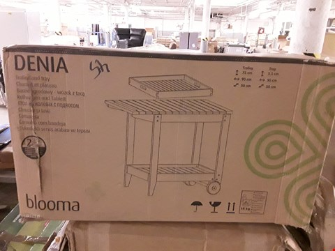 Lot 317 BOXED BLOOMA DENIA TROLLEY AND TRAY RRP £95