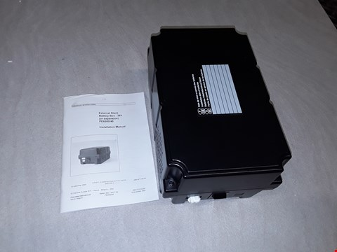 Lot 17244 CHEROKEE EXTERNAL STACK BATTERY BOX - 36V (OR EXPANSION) PE6500