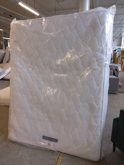 Lot 142 QUALITY BAGGED SILENTNIGHT MIRACOIL PILLOWTOP 150CM KING SIZED MATTRESS