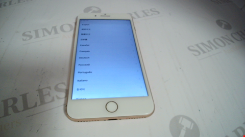 Lot 17359 APPLE IPHONE MOBILE PHONE IN BEIGE