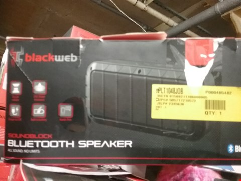 Lot 1074 3 ASSORTED SOUNDBLOCK BLUETOOTH SPEAKERS