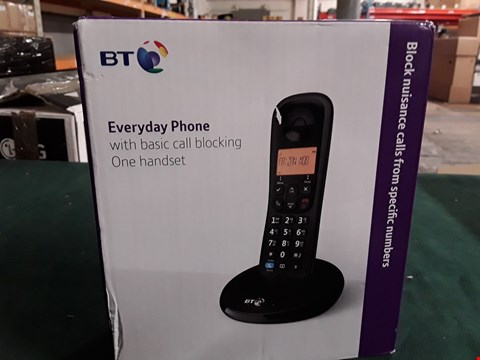 Lot 420 BT EVERYDAY PHONE WITH BASIC CALL BLOCKING  RRP £24.99