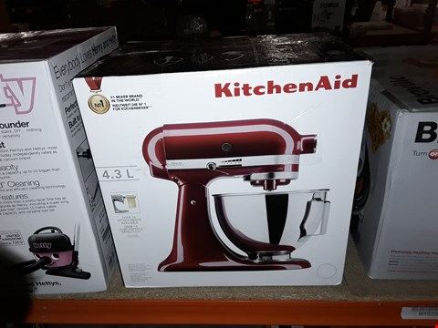 Lot 1161 KitchenAid 5KSM45BGD Stand Mixer, Grenadine