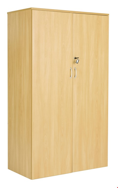 Lot 12075 BRAND NEW BOXED WORKMODE DOUBLE DOOR 160 CUPBOARD - OAK(2 BOXES)