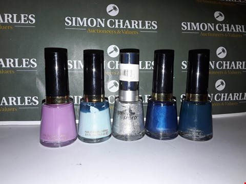 Lot 91 LOT OF 5 ASSORTED REVLON NAIL POLISHES