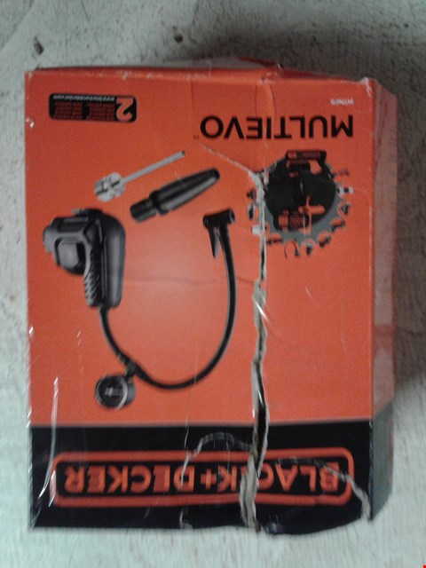 Lot 94 BLACK+DECKER MTNF9-XJ MULTI-EVO MULTI-TOOL INFLATOR ATTACHMENT