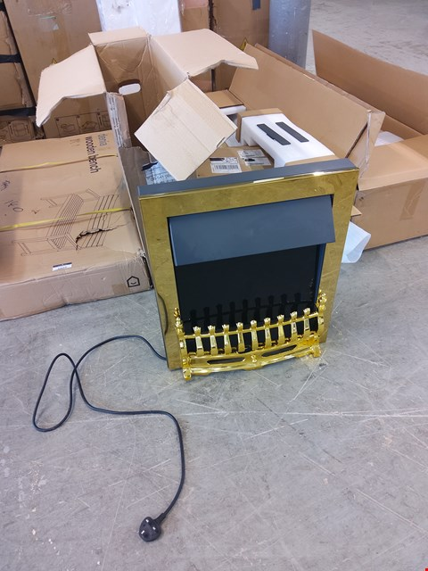 Lot 1024 BOXED INSET ELECTRIC FIRE