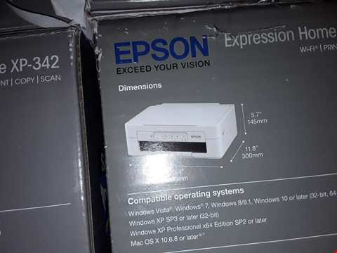 Lot 162 2X EPSON XP-247 WIFI PRINTERS