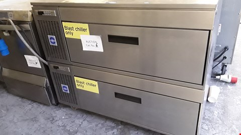 Lot 56 ADANDE VC5 DOUBLE STACKED BLAST CHILLER