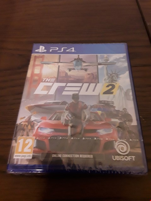 Lot 1006 THE CREW 2 PLAYSTATION 4 GAME