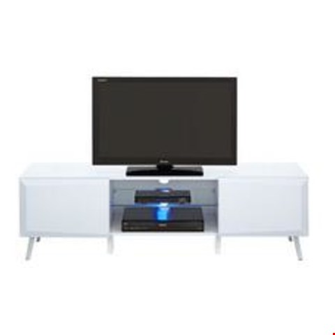 Lot 2063 BOXED GRADE 1 WHITE XANDER TV STAND (1 BOX) RRP £179