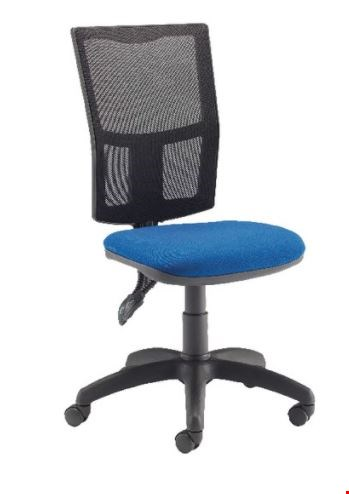 Lot 9146 BRAND NEW BOXED FF ARISTA MESH HB TASK CHAIR BLUE